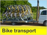 Cycling - bike taxi transport